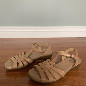 Naturalizer Tan Strappy Sandal